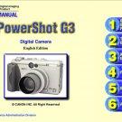 CANON POWERSHOT G3 DIGITAL CAMERA SERVICE REPAIR MANUAL