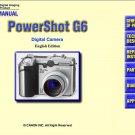 CANON POWERSHOT G6 DIGITAL CAMERA SERVICE REPAIR MANUAL