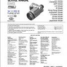 SONY DSC-F707 DIGITAL CAMERA SERVICE REPAIR MANUAL
