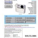 SONY DSC-F88 DIGITAL CAMERA SERVICE REPAIR MANUAL