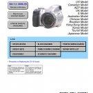 SONY DSC-H5 DIGITAL CAMERA SERVICE REPAIR MANUAL