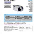 SONY DSC-P41 DSC-P43 DIGITAL CAMERA SERVICE REPAIR MANUAL