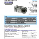 SONY DSC-P8 DIGITAL CAMERA SERVICE REPAIR MANUAL