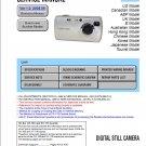 SONY DSC-S40 DIGITAL CAMERA SERVICE REPAIR MANUAL