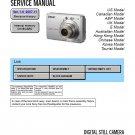 SONY DSC-S730 DIGITAL CAMERA SERVICE REPAIR MANUAL