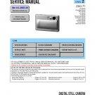 SONY DSC-T1 DIGITAL CAMERA SERVICE REPAIR MANUAL