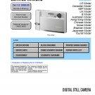 SONY DSC-T30 DIGITAL CAMERA SERVICE REPAIR MANUAL