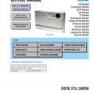SONY DSC-T9 DIGITAL CAMERA SERVICE REPAIR MANUAL