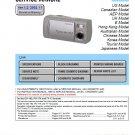 SONY DSC-U10 DIGITAL CAMERA SERVICE REPAIR MANUAL