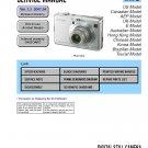 SONY DSC-W100 DIGITAL CAMERA SERVICE REPAIR MANUAL