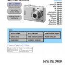 SONY DSC-W35 DIGITAL CAMERA SERVICE REPAIR MANUAL