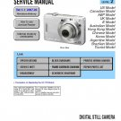 SONY DSC-W55 DIGITAL CAMERA SERVICE REPAIR MANUAL