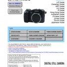 SONY DSC-V3 DIGITAL CAMERA SERVICE REPAIR MANUAL