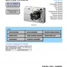 SONY DSC-W130 DIGITAL CAMERA SERVICE REPAIR MANUAL