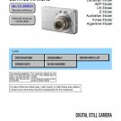 SONY DSC-S750 DIGITAL CAMERA SERVICE REPAIR MANUAL
