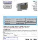 SONY DSC-T7 DIGITAL CAMERA SERVICE REPAIR MANUAL