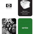 HP LASERJET 1010 1012 1015 PRINTER SERVICE REPAIR MANUAL