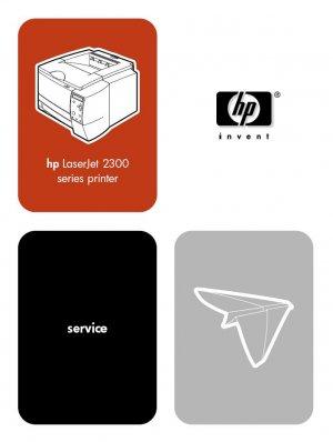 HP LASERJET 2300 SERIES PRINTER SERVICE REPAIR MANUAL