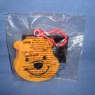 NEW McDonalds Happy Meal Toy Winnie The Pooh Message Pad # 1 Bear Yellow NIP