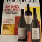 NEW Wine Spectator Big Reds March 31 2010 Magazine Mar