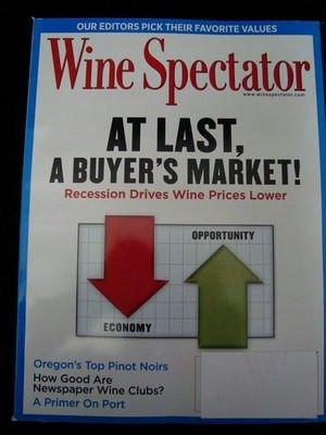 Wine Spectator Jan 31 2010 Feb 28 2010 Magazine NEW