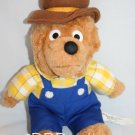 "Berenstain Bears plush 1993 Papa Bear Stuffed Chosun Int Animal Toy 12"" dad"