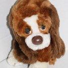 "Russ Berrie stuffed animal Sad eyes Baxter Puppy Dog plush toy 871 Korea 7"" VTG"
