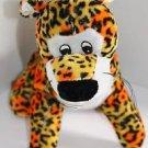 """Goffa Int'l Leopard Cat Orange Yellow Black Spots Soft Toy Plush Stuffed 10"""""""
