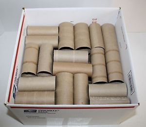 Toilet Paper ROLLS Cardboard Craft Project Tubes Empty Cylinder Supplies Lot 50