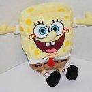 "SPONGEBOB Squarepants 8"" Big Smiley Face Plush Yellow Stuffed Bean Bag Soft Toy"