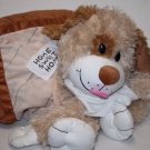 """HAPPY NAPPER DOG HOUSE PLUSH PILLOW 22"""" Stuffed Animal Home Sweet Home Soft Toy"""