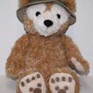 "Disney Safari Hidden Mickey DUFFY BEAR 13"" Stuffed Animal Hat Soft Toy Plush"