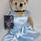 "2011 CINDERELLA Atlanta Plush Jointed TEDDY BEAR 12"" Handmade Costume Soft Doll"