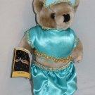 "2010 ALADDIN Atlanta Plush Jointed TEDDY BEAR 12"" Handmade Costume Soft Doll"