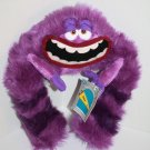 "Disney Store ART Monsters Inc 13"" Tall Purple Bendable Plush Soft Toy Monster"