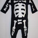 Carters Halloween Costume Baby SKELETON 6 Months Infant 1 Piece GLOW IN THE DARK