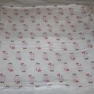 HB Baby Vision COTTON FLANNEL OWLS BABY GIRL RECEIVING BLANKET Pink Soft Lovey