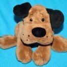 "Ganz HAPPY HOUNDS DOG 5"" Dark Brown Bean Bag Soft Toy Stuffed Animal Plush H9819"