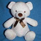 "Kidsline Flower Soft Toy TEDDY BEAR 9"" Baby Girl Plush Stuffed Pink Brown White"