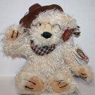 "100th Anniversary Roosevelt Dan Dee TEDDY BEAR 12"" Cowboy Hat Plush Soft Toy"