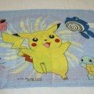 "Pokemon Standard 1 Pillowcase Fabric Material 20"" x 26"" Pikachu Meowth Poliwhirl"