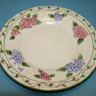 "Yankee Candle Large Jar Plate Hydragana Lattice Holder Spring Flower Floral 7.5"""