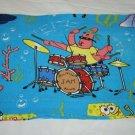 Spongebob Squarepants Blue Valance Curtain 1 Panel Patrick Jellyfish Jam Band