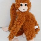 "Proud Toy Orange Brown Plush Monkey 10"" Small Soft Toy Stuffed Animal Fty Zhuhai"