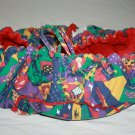 Floppy Seat Red Shopping Cart Cover Highchair Carry Stuff Bag Jungle Animals