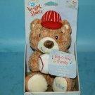 Bright Starts Kids II ROOKIE Baseball TEDDY BEAR Stuffed Plush Sings Take Me Out