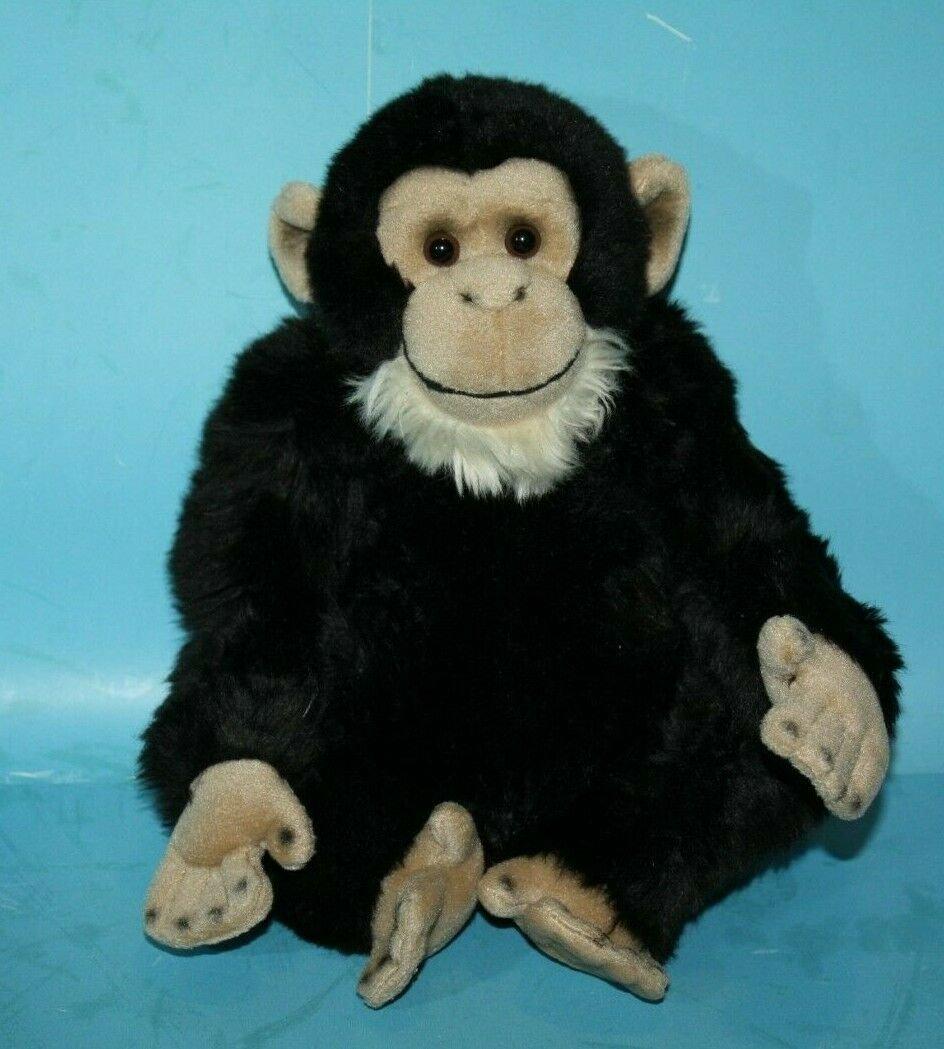 Webkinz Signature CHIMPANZEE Plush Jungle Monkey Stuffed Animal WKS1002 No Code