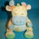 "Bright Inspirations Giraffe 10"" Soft Toy Plush Stuffed Moon Tummy No Sound 2004"