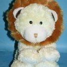COSTCO Lion Plush Soft Baby Toy Little Miracles Stuffed Animal Yellow Cream 2010