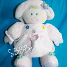 "Kids Preferred Baby Girl DOLL 11"" Pink Plush Flowers Stuffed Soft Toy Hat Dress"